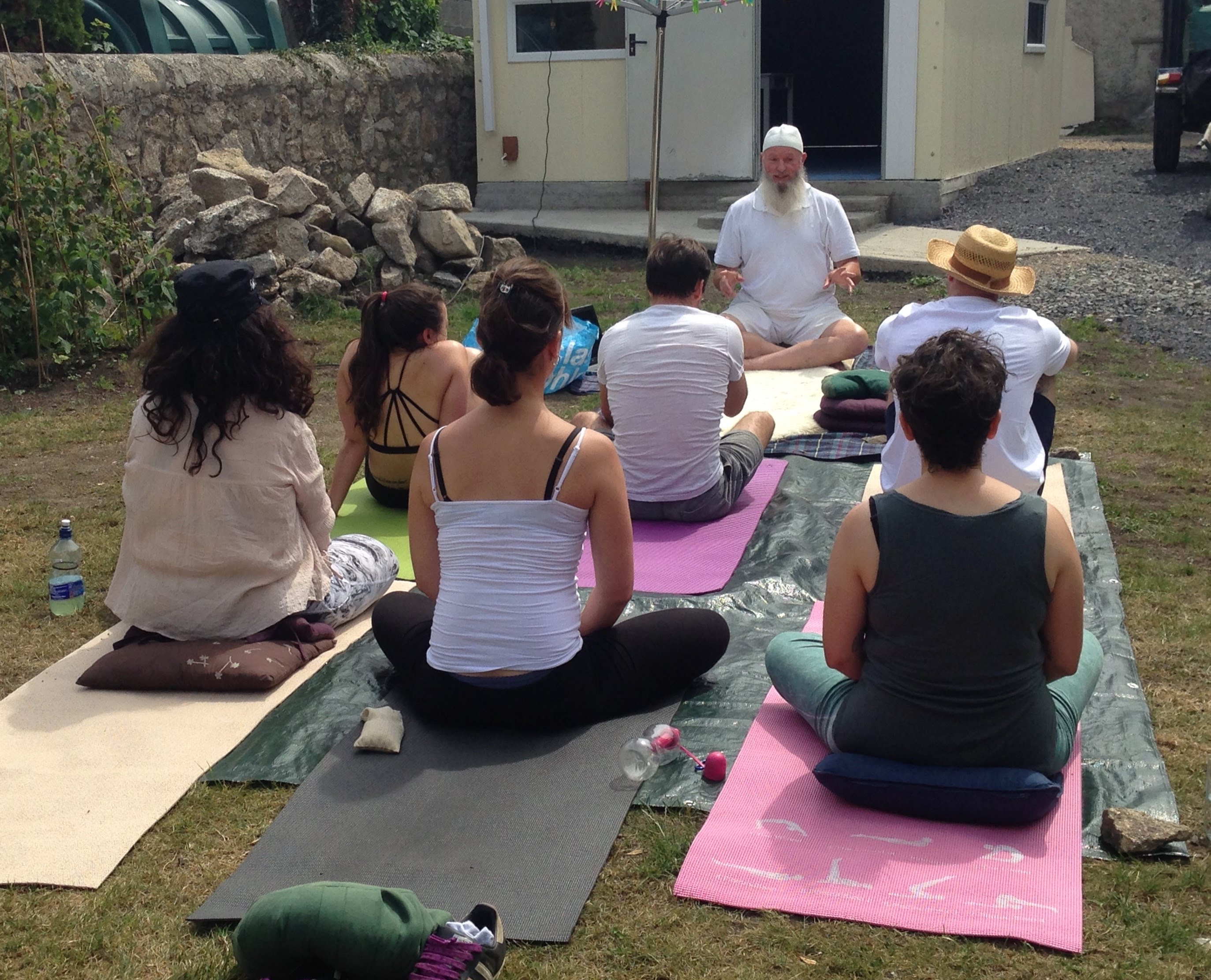 Kundalini Yoga Class outside at 4 Maxwell Road, Rathgar, Dublin 6, Ireland